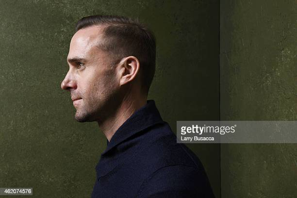 Actor Joseph Fiennes from Strangerland poses for a portrait at the Village at the Lift Presented by McDonald's McCafe during the 2015 Sundance Film...