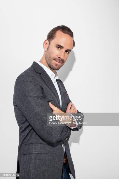 Actor Joseph Fiennes photographed for NY Daily News on April 22 in New York City