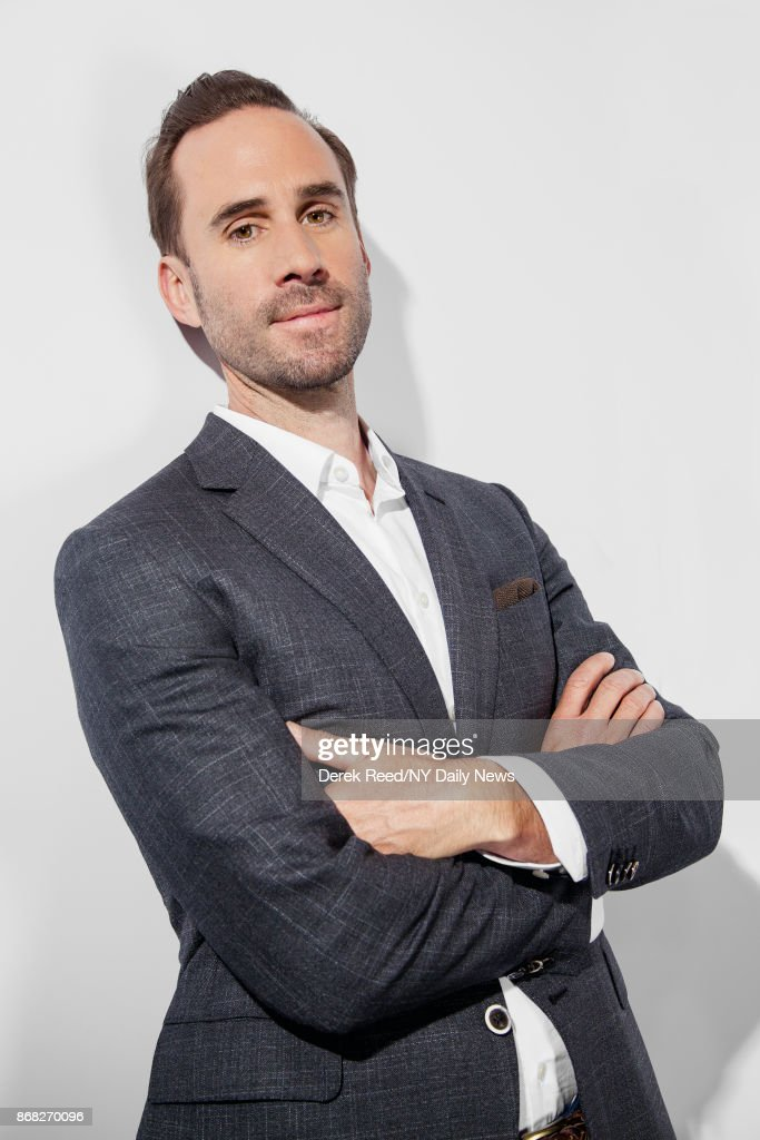 Actor Joseph Fiennes photographed for NY Daily News on April 22, 2017, in New York City.