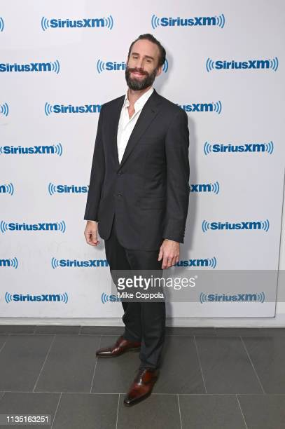 Actor Joseph Fiennes visits SiriusXM at SiriusXM Studios on March 11 2019 in New York City
