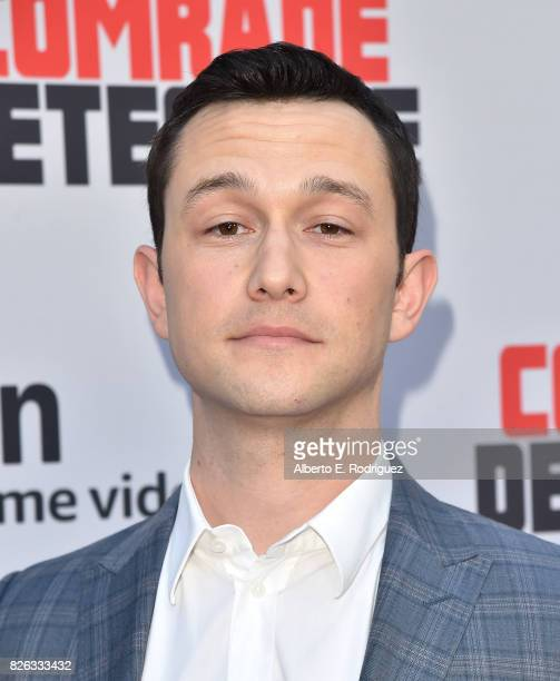 """Actor Joseph Gordon Levitt attends the premiere of Amazon's """"Comrade Detective"""" at ArcLight Hollywood on August 3, 2017 in Hollywood, California."""