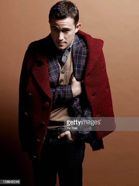 Actor Joseph Gordon Levitt is photographed for Black Book Magazine on July 1 2011 in Los Angeles California PUBLISHED IMAGE