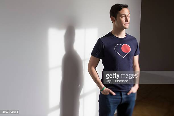 Actor Joseph Gordon Levitt is photographed for Los Angeles Times on December 2 2013 in Glendale California PUBLISHED IMAGE CREDIT MUST READ Jay L...