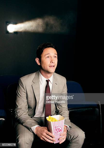 Actor Joseph Gordon Levitt poses for a portrait at CinemaCon 2013 on April 18 2013 in Las Vegas Nevada