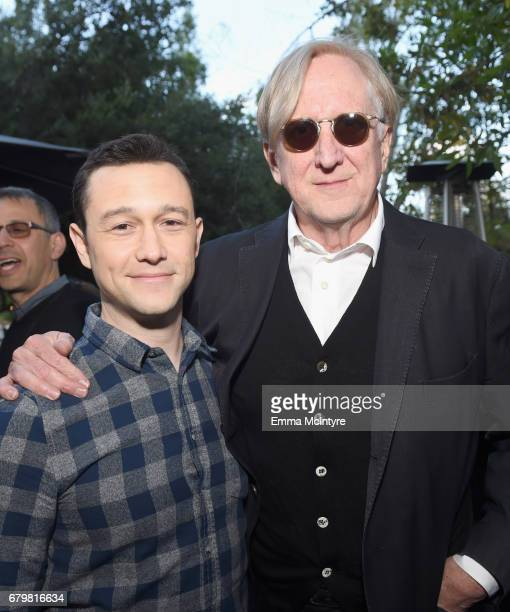 Actor Joseph GordonLevitt and musician T Bone Burnett attend the Fandango advanced screening of 'An Inconvenient Sequel Truth to Power' presented by...