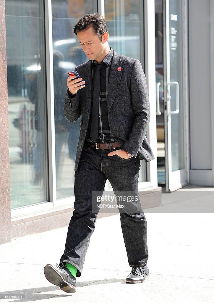 Actor Joseph Gordon-Levitt as seen on March 26, 2013 in New York City.