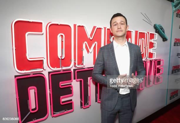 "Actor Joseph Gordon-Levitt attends Amazon Prime Video Premiere Of Original Comedy Series ""Comrade Detective"" In Los Angeles on August 3, 2017 in Los..."