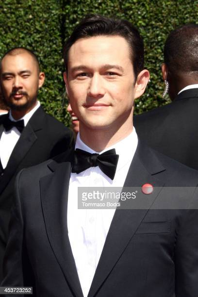 Actor Joseph GordonLevitt attends the 2014 Creative Arts Emmy Awards held at the Nokia Theatre LA Live on August 16 2014 in Los Angeles California