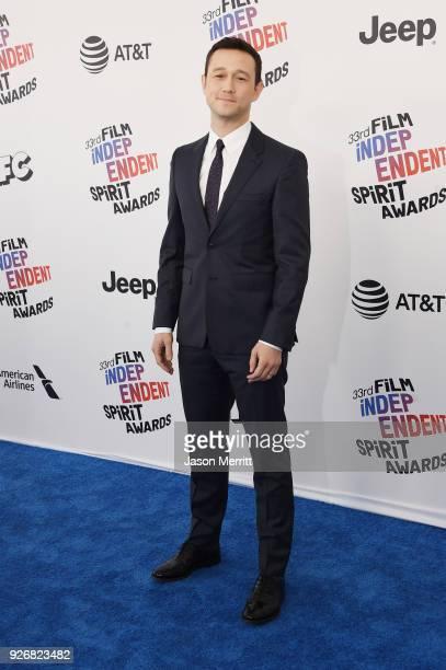 Actor Joseph Gordon-Levitt attends the 2018 Film Independent Spirit Awards on March 3, 2018 in Santa Monica, California.