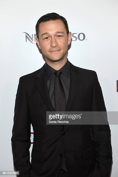 Actor Joseph GordonLevitt attends the official preparty for 'Snowden' cohosted by Audi and Nespresso at Lavelle on September 9 2016 in Toronto Canada
