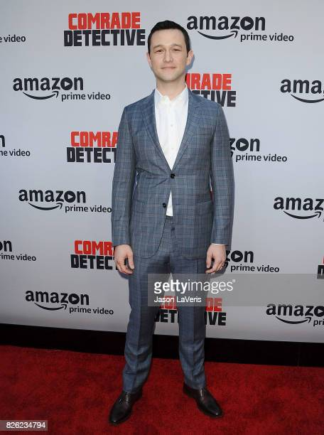 """Actor Joseph Gordon-Levitt attends the premiere of """"Comrade Detective"""" at ArcLight Hollywood on August 3, 2017 in Hollywood, California."""