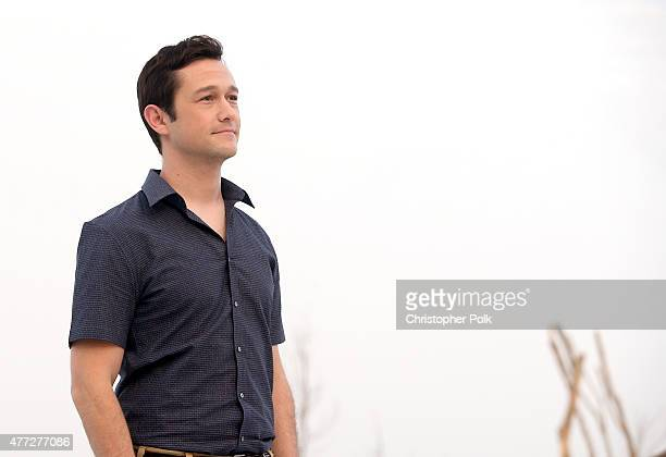 Actor Joseph GordonLevitt attends the The Walk photo call during Summer Of Sony Pictures Entertainment 2015 at The RitzCarlton Cancun on June 15 2015...