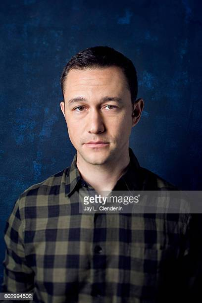 Actor Joseph GordonLevitt of 'Snowden' poses for a portraits at the Toronto International Film Festival for Los Angeles Times on September 9 2016 in...