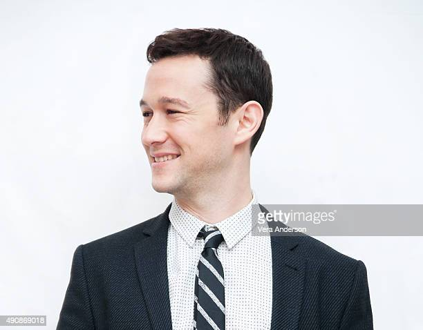 Actor Joseph GordonLevitt poses for a portrait at 'The Walk' Press Conference at The London Hotel on September 27 2015 in New York City