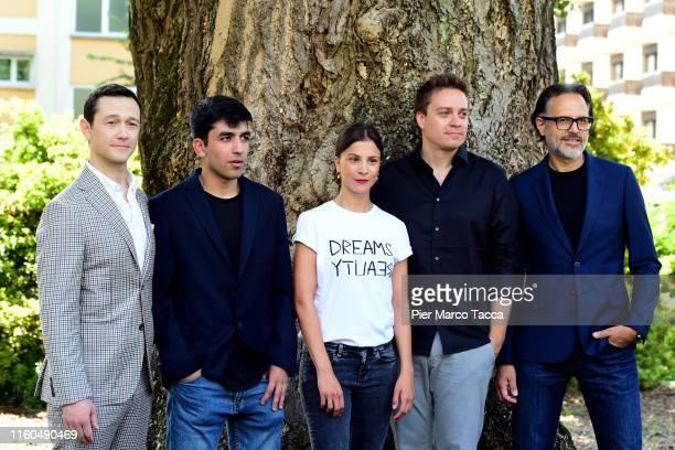 Actor Joseph GordonLewittand Actor Actor Omid Memar Actress Aylin Tezel Director Patrck Vollrath and Actor Carlo Kitzlinger attend the '7500'...