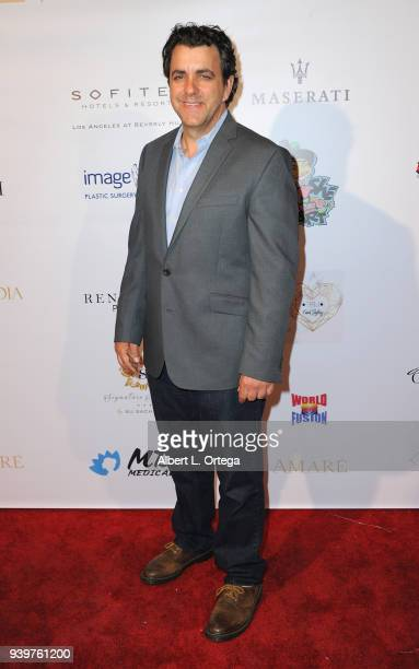 Actor Joseph Lyle Taylor arrives at the Amare Magazine Celebration for Their Music And Art Issue held at Riviera 31 on March 28 2018 in Los Angeles...