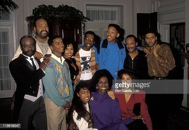 Actor Joseph Marcell actor James Avery actor Alfonso Ribeiro singer Tyler Collins actor Kadeem Hardison actor Will Smith music/television producer...