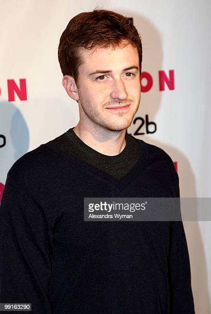 Actor Joseph Mazzello arrives at NYLON'S May Young Hollywood Event at Roosevelt Hotel on May 12 2010 in Hollywood California