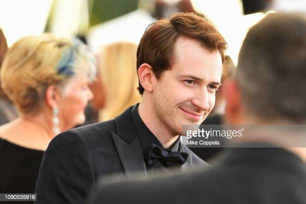 Actor Joseph Mazzello attends the 25th Annual Screen Actors Guild Awards at The Shrine Auditorium on January 27 2019 in Los Angeles California 480543