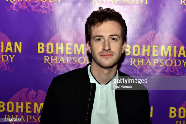 Actor Joseph Mazzello who portrays John Deacon walks the red carpet at the Boston red carpet screening of 'Bohemian Rhapsody' the film about the rock...