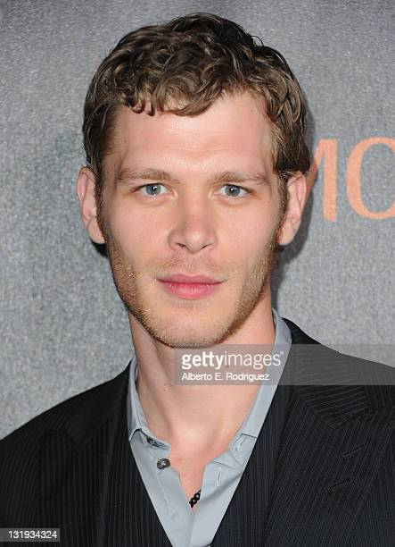 Actor Joseph Morgan arrives at Relativity Media's 'Immortals' premiere presented in RealD 3 at Nokia Theatre LA Live at Nokia Theatre LA Live on...