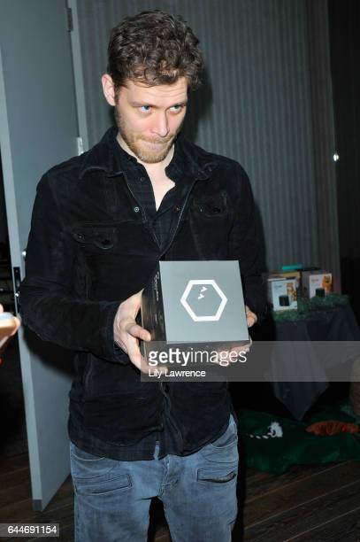 Actor Joseph Morgan attends Kari Feinstein's PreOscar Style Lounge at the Andaz Hotel on February 23 2017 in Los Angeles California