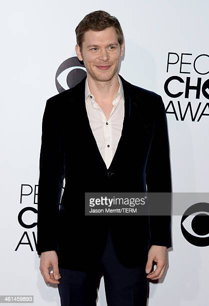 Actor Joseph Morgan attends The 40th Annual People's Choice Awards at Nokia Theatre L.A. Live on January 8, 2014 in Los Angeles, California.