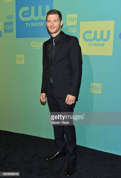 Actor Joseph Morgan attends the CW Network's New York 2014 Upfront Presentation at The London Hotel on May 15 2014 in New York City
