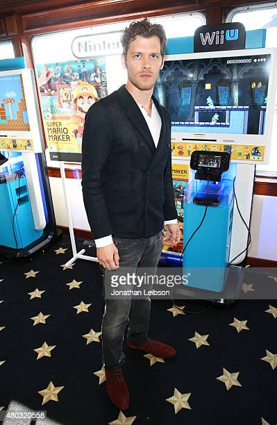 Actor Joseph Morgan attends The Nintendo Lounge on the TV Guide Magazine yacht during ComicCon International 2015 on July 10 2015 in San Diego...