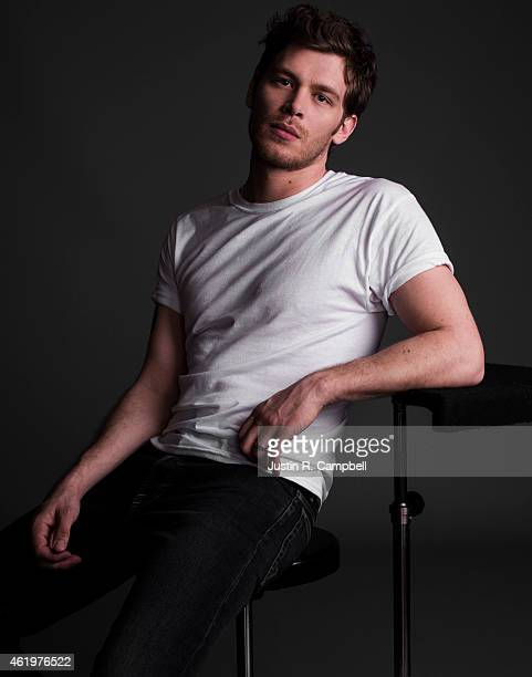 Actor Joseph Morgan is photographed for Just Jared on January 10, 2015 in Los Angeles, California.