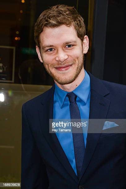 Actor Joseph Morgan leaves his Midtown Manhattan hotel on May 16 2013 in New York City