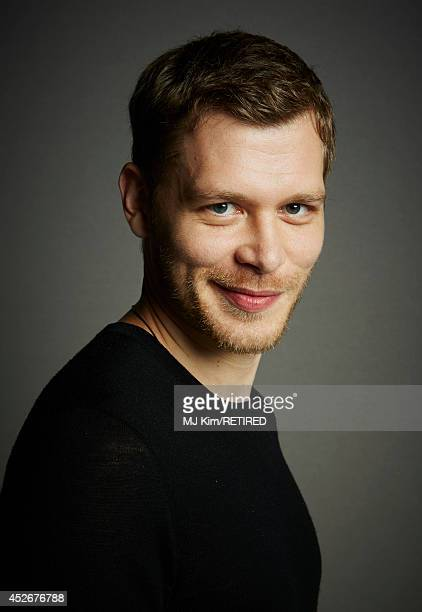 Actor Joseph Morgan poses for a portrait at the Getty Images Portrait Studio powered by Samsung Galaxy at ComicCon International 2014 at Hard Rock...
