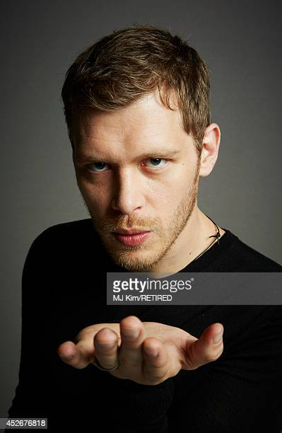 Actor Joseph Morgan poses for a portrait at the Getty Images Portrait Studio powered by Samsung Galaxy at Comic-Con International 2014 at Hard Rock...