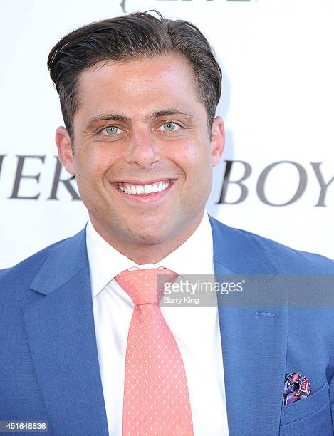 Actor Joseph Russo attends the 2014 Los Angeles Film Festival closing night premiere of 'Jersey Boys' at Premiere House on June 19 2014 in Los...