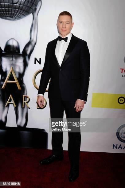 Actor Joseph Sikora arrives at the 48th NAACP Image Awards at Pasadena Civic Auditorium on February 11 2017 in Pasadena California