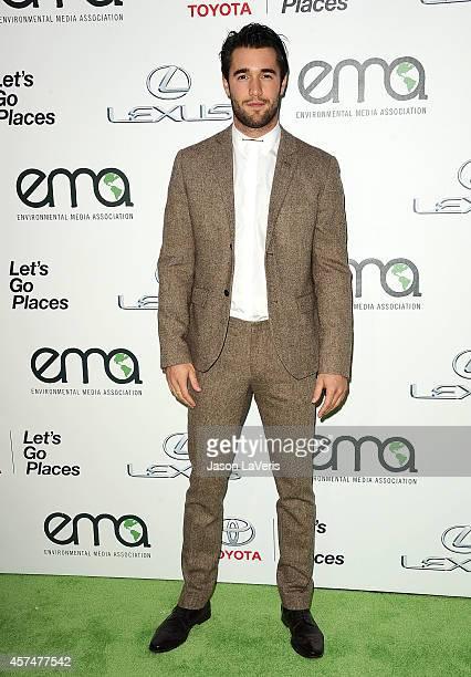 Actor Josh Bowman attends the 2014 Environmental Media Awards at Warner Bros Studios on October 18 2014 in Burbank California