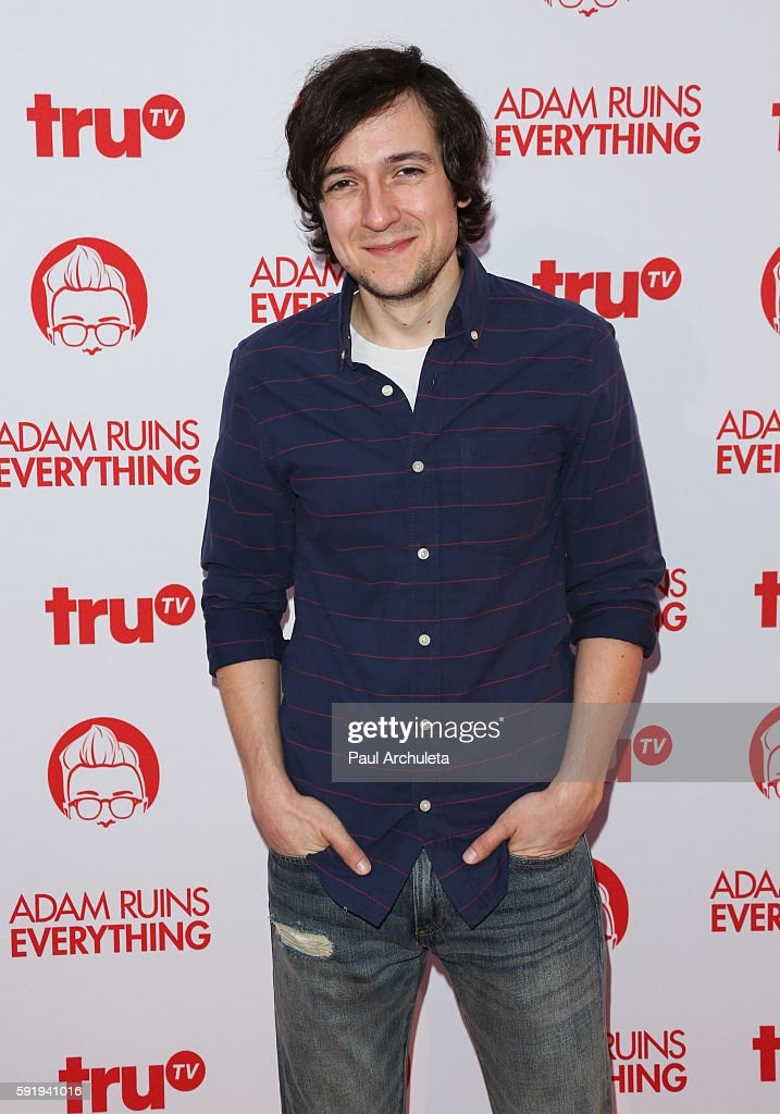 """Screening And Reception For truTV's """"Adam Ruins Everything"""" - Arrivals : News Photo"""