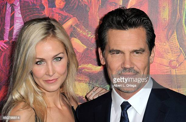 Actor Josh Brolin and assistant/girlfriend Kathryn Boyd arrive for the Premiere Of Warner Bros Pictures' 'Inherent Vice' held at TCL Chinese Theatre...