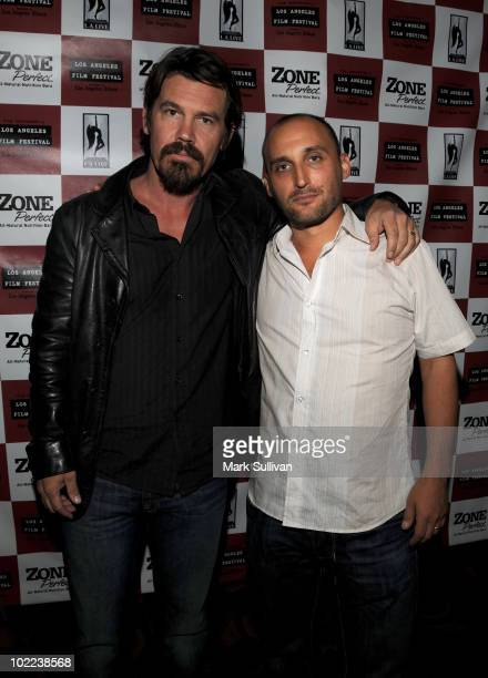 """Actor Josh Brolin and Director Amir Bar-Lev arrive at the premiere of """"The Tillman Story"""" during the 2010 Los Angeles Film Festival at Regal Cinemas..."""