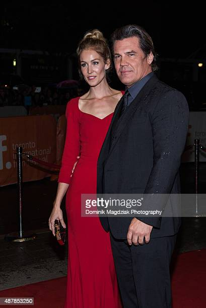Actor Josh Brolin and fiancee Kathryn Boyd attend the 'Sicario' premiere during the Toronto International Film Festival at the Princess of Wales...
