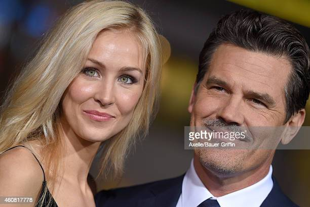 Actor Josh Brolin and Kathryn Boyd arrive at the premiere of 'Inherent Vice' at TCL Chinese Theatre on December 10 2014 in Hollywood California