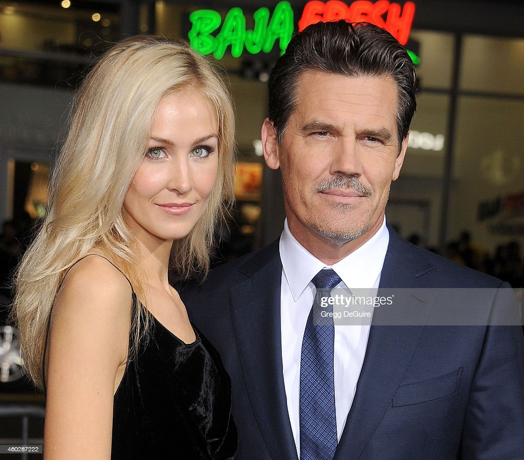 Actor Josh Brolin and Kathryn Boyd arrive at the premiere of Warner Bros. Pictures' 'Inherent Vice' at TCL Chinese Theatre on December 10, 2014 in Hollywood, California.