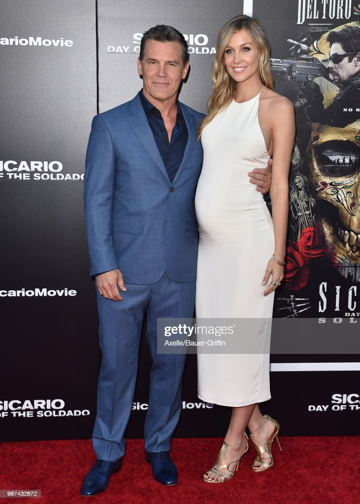 Actor Josh Brolin and Kathryn Boyd attend Columbia Pictures' 'Sicario: Day of the Soldado' Premiere at Regency Village Theatre on June 26, 2018 in Westwood, California.