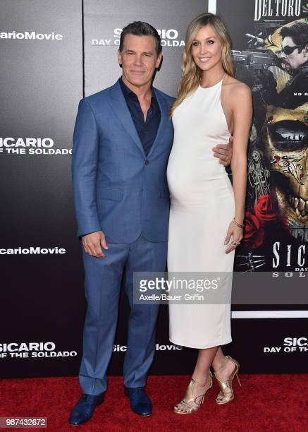 Actor Josh Brolin and Kathryn Boyd attend Columbia Pictures' 'Sicario Day of the Soldado' Premiere at Regency Village Theatre on June 26 2018 in...
