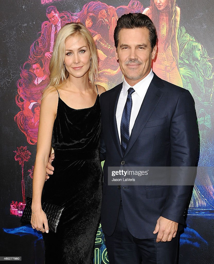Actor Josh Brolin (R) and Kathryn Boyd attend the premiere of 'Inherent Vice' at TCL Chinese Theatre on December 10, 2014 in Hollywood, California.