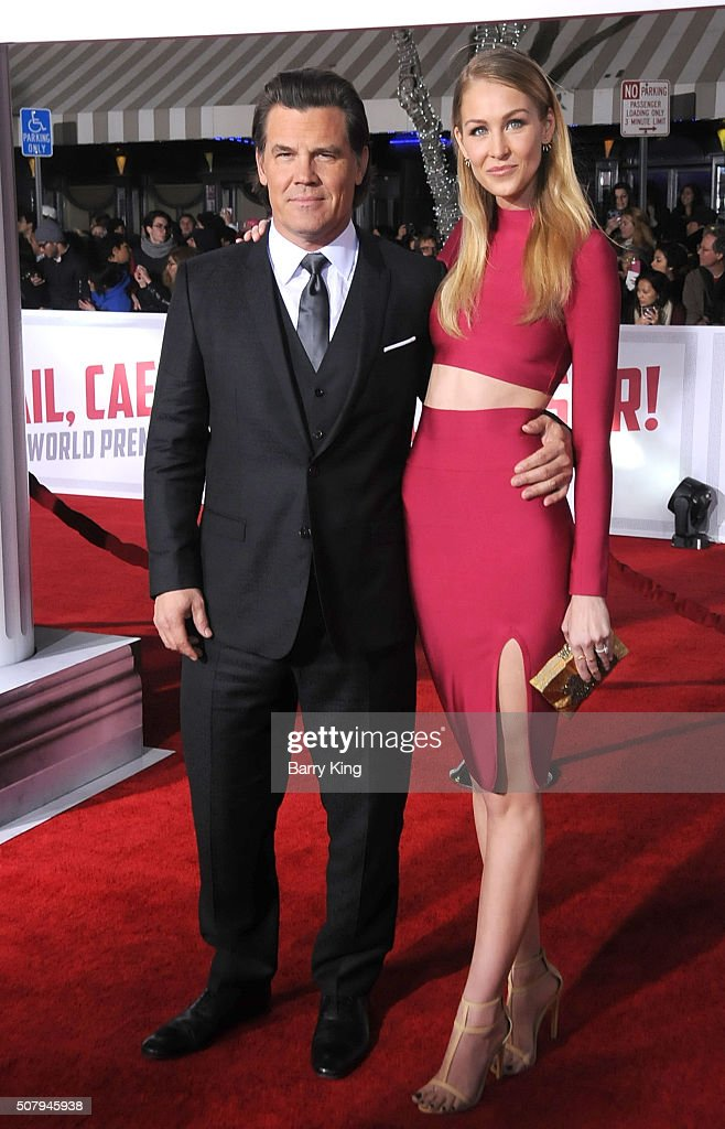 Actor Josh Brolin and Kathryn Boyd attend the Premiere of Universal Pictures' 'Hail, Caesar!' at the Regency Village Theatre on February 1, 2015 in Westwood, California.