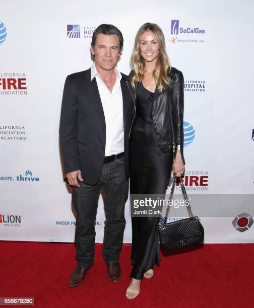 Actor Josh Brolin and Kathyrn Boyd attend California Fires Foundation's 4th Annual Foundation Gala at Avalon Hollywood on March 22 2017 in Los...