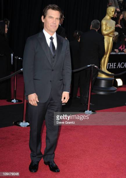 Actor Josh Brolin arrives at the 83rd Annual Academy Awards held at the Kodak Theatre on February 27 2011 in Hollywood California