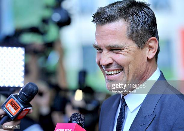 Actor Josh Brolin arrives at the Labor Day Premiere during the 2013 Toronto International Film Festival at Ryerson Theatre on September 7 2013 in...