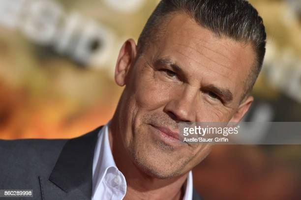 Actor Josh Brolin arrives at the premiere of 'Only the Brave' at Regency Village Theatre on October 8 2017 in Westwood California